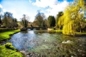Ashford in the Water Sheepwash Bridge